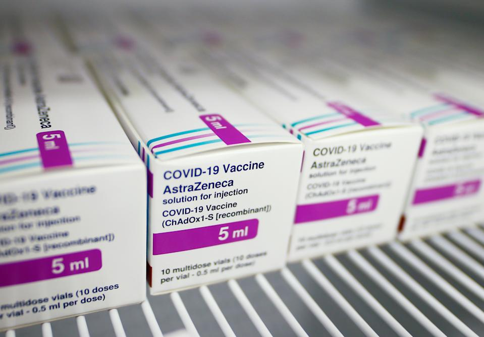 The review from the medicines regulator comes after a string of European countries suspended their rollouts of the vaccine after fears it caused blood clotting. Photo: Thilo Schmuelgen/Reuters