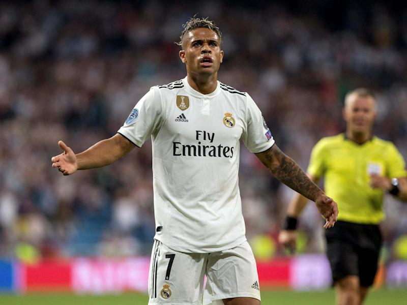 Real Madrid forward Mariano Diaz tested positive for coronavirus at the start of the week: EPA