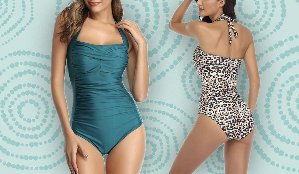 It's confidence, in the form of a swimsuit. (Photo: Amazon)