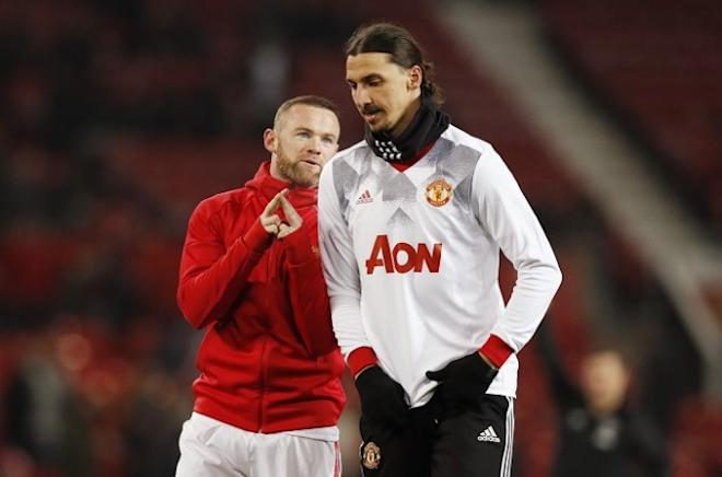 Wayne Rooney, Zlatan Ibrahimovic, Manchester United, Chelsea, FA Cup