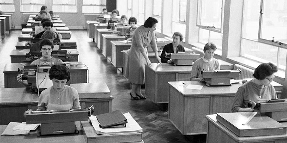 <p>Typists are still in-demand today, just without the typewriter. In the 1940s, typists were popular positions within the publishing, administrative and clerical industries. The role today has simply been upgraded with computers. </p>