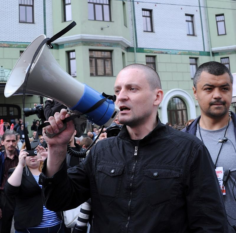 Russian opposition activist Sergei Udaltsov led a banned radical leftist group and rose to prominence during a mass protest movement against President Vladimir Putin's return to the Kremlin