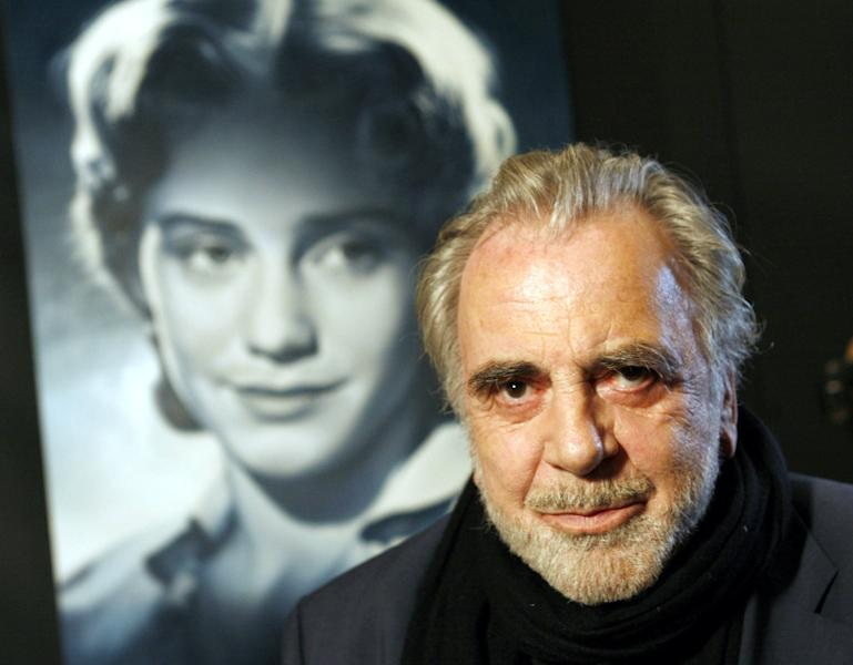 "FILE - In this Jan. 30, 2007 file picture actor Maximilian Schell poses in front of a poster of his sister Maria Schell in Frankfurt, Germany. Austrian actor Maximilian Schell, who won the best actor Oscar in the early 1960s for his portrayal of a defense attorney in the drama ""Judgment at Nuremberg,"" has died. He was 83. Schell's agent Patricia Baumbauer said Saturday Feb. 1, 2014 that Schell died overnight at a hospital in Innsbruck following a ""sudden and serious illness,"" the Austria Press Agency reported. Born to a Swiss writer and an Austrian actress, he was the younger brother of Maria Schell, an icon of the German-speaking film world, who died in 2005. (AP Photo/dpa, Frank Rumpenhorst,File)"