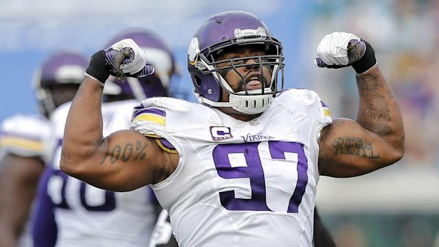 Check out all the highlights and stats from Sunday's Vikings-Panthers game in Carolina.