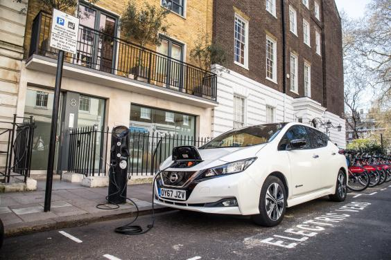 The electric Nissan Leaf is one of the models made in Sunderland (Nissan)