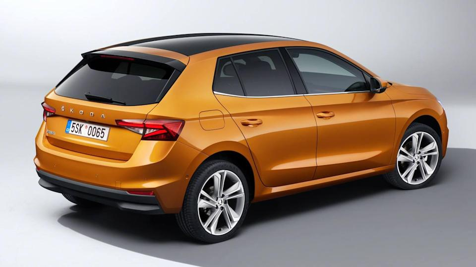 Overall, the 2022 Skoda Fabia is 111 mm longer than its predecessor. Image: Skoda