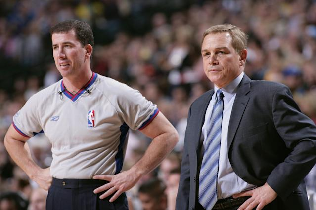 Tim Donaghy, as well as the NBA, have long alleged he didn't fix the games he bet on. New analysis shows he did. (Photo by Glenn James/NBAE via Getty Images)