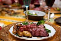 """<p>Though this one doesn't come as much of surprise now, does it? </p><p>Get the <a href=""""https://www.delish.com/cooking/recipe-ideas/a23365148/how-to-pan-fry-steak/"""" rel=""""nofollow noopener"""" target=""""_blank"""" data-ylk=""""slk:recipe"""" class=""""link rapid-noclick-resp"""">recipe</a>.</p>"""