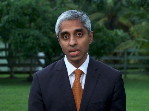 PHOTO: Dr. Vivek Murthy appears on 'Good Morning America.' (ABC News)