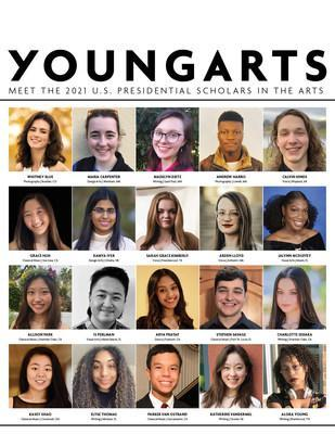 The 2021 U.S. Presidential Scholars in the Arts