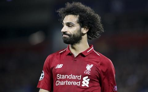 Salah is yet to hit last season's heights - Credit: GETTY IMAGES