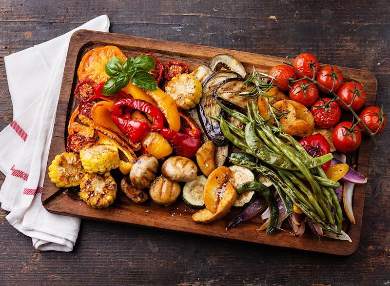 easy cheap ways to lose pounds grilled vegetables