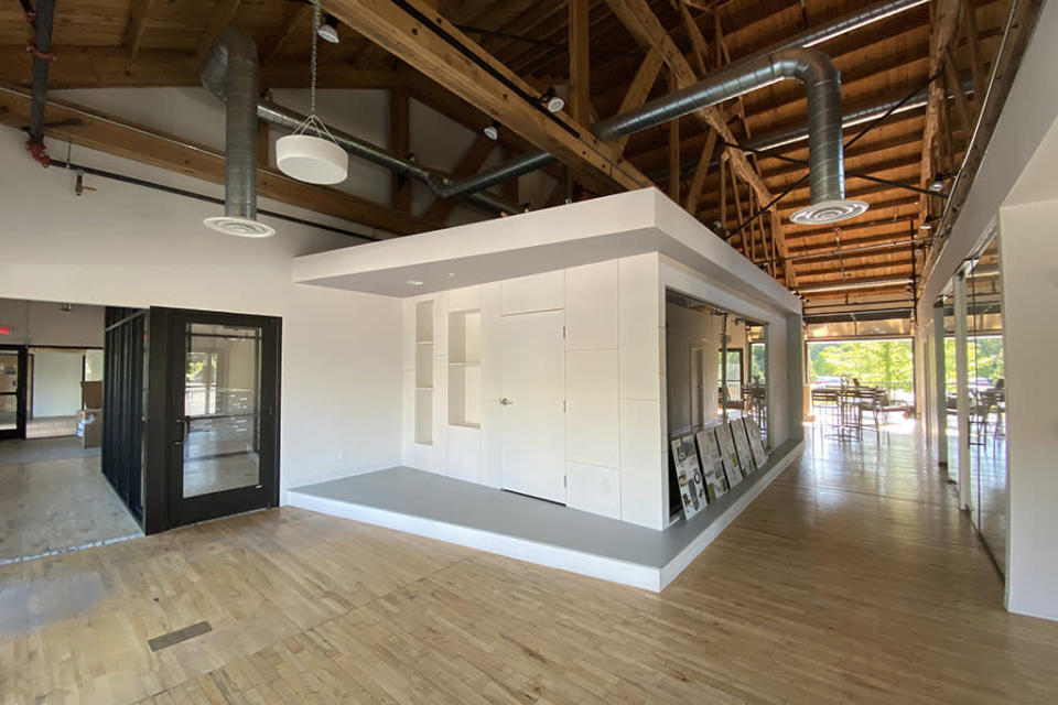 A look inside the new Oboz headquarters, which spans 8,300 square feet. - Credit: Peter Verry