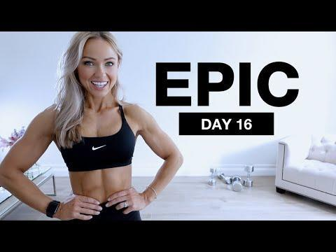 """<p>Target your back and biceps with sunny trainer Caroline and this spicy, slightly longer 40-minute session. You'll work for 30 seconds with 30 seconds rest the entire time, alternating between heavier and lighter weights. We weren't kidding when we said it would challenge you! </p><p><strong>Equipment: </strong>Set of heavy dumbbells, set of medium dumbbells, chair, an exercise mat</p><p><strong>How long?</strong>40 minutes</p><p><a href=""""https://www.youtube.com/watch?v=-RdpqRqh9mE&ab_channel=CarolineGirvan"""" rel=""""nofollow noopener"""" target=""""_blank"""" data-ylk=""""slk:See the original post on Youtube"""" class=""""link rapid-noclick-resp"""">See the original post on Youtube</a></p>"""