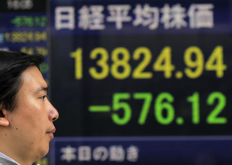 Asia stocks boosted by improved China trade