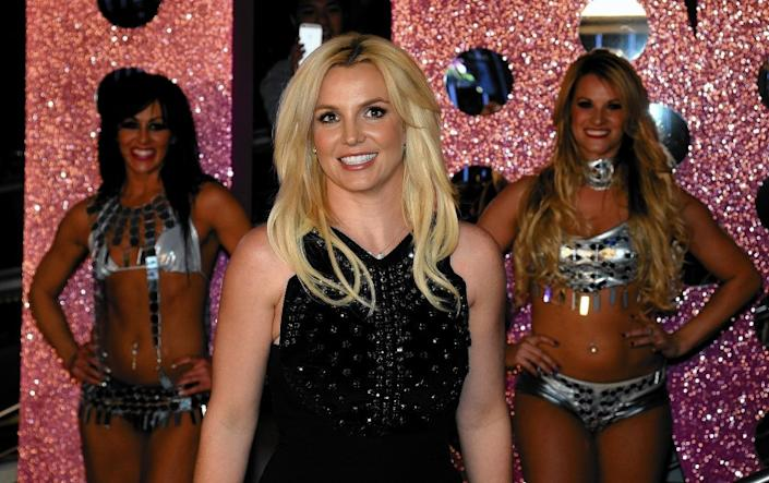 "Britney Spears in 2013 at Planet Hollywood Resort & Casino in Las Vegas. <span class=""copyright"">(Ethan Miller / Getty Images)</span>"