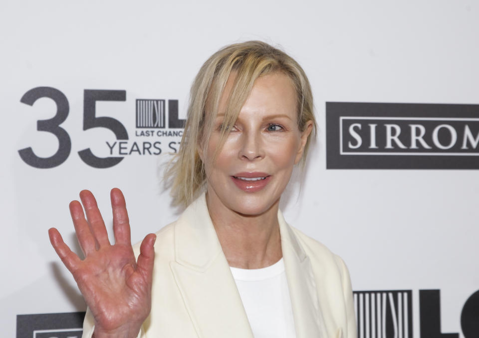 BEVERLY HILLS, CALIFORNIA - OCTOBER 19: Kim Basinger attends the Last Chance for Animals' 35th anniversary gala at The Beverly Hilton Hotel on October 19, 2019 in Beverly Hills, California. (Photo by Tibrina Hobson/Getty Images)