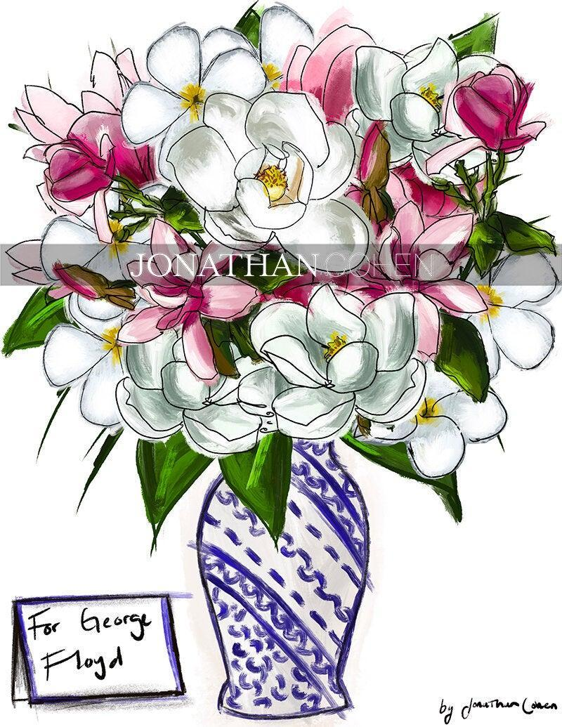 "<h2>Jonathan Cohen George Floyd Flowers</h2><br>Designer Jonathan Cohen hand-drew this beautiful digital bouquet to help fight racial injustice, with 15% of the proceeds going toward <a href=""https://bailproject.org/"" rel=""nofollow noopener"" target=""_blank"" data-ylk=""slk:The Bail Project"" class=""link rapid-noclick-resp"">The Bail Project</a>. You can personalize your own card and address it to someone special as a way of sending hope or showing unity.<br><br><strong>Jonathan Cohen</strong> George Floyd Flowers, $, available at <a href=""https://go.skimresources.com/?id=30283X879131&url=https%3A%2F%2Fwww.jonathancohenstudio.com%2Fshop-flowers%2Fgeorgeflloyd"" rel=""nofollow noopener"" target=""_blank"" data-ylk=""slk:Jonathan Cohen"" class=""link rapid-noclick-resp"">Jonathan Cohen</a>"