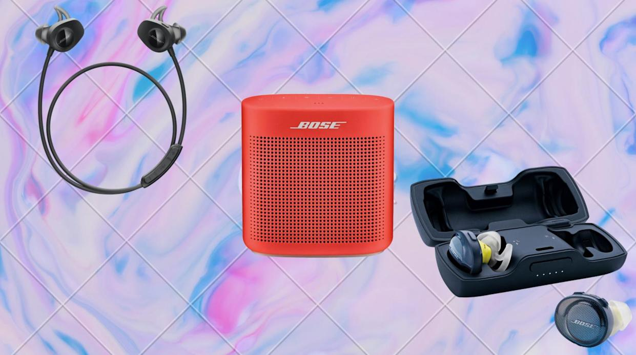 For Memorial Day: Get these deep discounts on Bose speakers, headphones, earbuds and more (sounds good to us). (Photo: Bose)