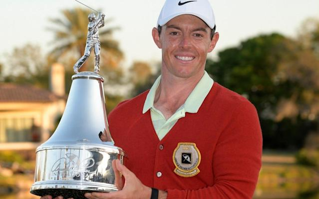 "As if this year's Masters needed any more of a fanfare, Rory McIlroy's remarkable return to prime form has added its own deafening bugle call. After winning his first title in 18 months on Sunday, the Ulsterman warned his rivals that he has ""a gift for this game"" and that he is ""hugely confident"" of becoming just the sixth player in history to complete the career grand slam at Augusta in two weeks' time. The bookmakers do not disagree, hauling him into favouritism in the ever-changing landscape of the season's first major. It seems every time the new week rolls around, so the Masters betting list must be radically redrawn after the performance of yet another golfing heavyweight the previous night in the United States. Certainly, McIlroy's wondrous success at the Arnold Palmer Invitational had the satchel men frantically lurching for the pencils to cross out the 16-1 on offer. McIlroy's odds have been cut in half to 8-1. McIlroy's candidacy for the Green Jacket has never seemed as alluring in a build-up as it does right now. ""It's huge,"" McIlroy said, following his leap from world No 13 up to seventh. ""The shots I was able to hit under pressure, coming down the stretch, the two five-irons into the par-threes on the back nine, the wedge shots, the putts, the drive on 16, the three-wood on 18 after the last three-wood I hit on that hole I hit out-of-bounds left on Thursday. ""All these little barriers you have to overcome, whether it be physical or mental. Yeah, it's huge for my confidence going into Augusta. I kept saying I didn't need a win going into the Masters to feel like I had a chance. Thankfully I've now got one."" What a cast list he will be up against between those Georgia pines. For the previous few months, McIlroy had faced queries about the chances of Justin Thomas, Phil Mickelson, Paul Casey, Bubba Watson and, of course, the Resurrection Man, himself, Tiger Woods, who finished in the top five for a second successive week. McIlroy plays his way out of a bunker on the 15th at Bay Hill Credit: Getty Images With his own game supposedly in the doghouse, McIlroy only appeared useful to the golf writers for a form-guide and a quote, and that irony was not lost on him in the hours after his triumph at Bay Hill. ""Look, those guys are my friends, so I've been delighted for them,"" he said. ""JT's been on a tear the last 18 months. Phil, it was great for him to get the win in Mexico. Tiger coming back. I've been happy to answer those questions. I just hope they get some questions about me now."" There can be no doubt about that. The 28-year-old's final-round 64 to see off a stellar leaderboard ­featuring Woods, Justin Rose, Henrik Stenson and the talented young American Bryson DeChambeau was McIlroy's rebirth. He reminded everyone of his staggering talent. In the midst of his desultory run in the United States, with two missed cuts in four events going into Bay Hill, McIlroy assured ­anyone who would listen ""I'm not far away"". ""Nobody believed me,"" McIlroy said with a smile. ""This is a game of fine margins and I knew all I needed was a tweak here and there."" Golfing folklore already shows that a brief putting lesson last ­Monday from former US Ryder Cup player Brad Faxon effected a ­remarkable transformation. From looking heavy-handed, almost rigid on the greens, McIlroy's putting stroke suddenly seemed as effortless in rhythm as his long-game swing. ""Brad freed up my head more than my stroke,"" McIlroy said. ""I was getting a little bogged down by technical or mechanical thoughts. You look at so many guys out here, so many different ways to get the ball in the hole, even going back to the likes of Billy Mayfair, or someone who is very unorthodox but still got it done. The objective is to get that ball in the hole and that's it. I think I lost sight of that."" The ball dropped with ridiculous haste as he reeled off five birdies in the last six holes. The 20-footer on the 18th was the grandstand moment he deserved, punching the air, Tiger-style as the victory was confirmed. It was such a well-timed revival with Augusta looming. McIlroy's putting game is as good as it ever was Credit: Getty Images Looking on, playing partner Rose declared he had ""never seen Rory putt so well"" and, despite the Englishman's own self-belief in going one better at Augusta than last year, he agreed with McIlroy's bullishness. ""Rory just played incredible golf, and it's great to see world-class players do that,"" Rose said. ""It's not great to see him make putts because he was making them against me, but when he is, he's incredibly hard to beat."" There was only one regret for McIlroy – that The King was not there to greet him, as was always Palmer's custom. ""I wish he would have been at the top of the hill to shake my hand when I came off the 18th green, but hopefully he's proud of me with the way I played that back nine and tried to be as aggressive as I could and take on shots when I needed to, just like he would have,"" McIlroy said. ""I had quite a connection with Arnold Palmer and was very fortunate to spend time with him here and he was always so nice to me. I've got so many letters from him. Someone told me earlier the last time I won was actually the day Mr Palmer passed away and it's sort of come full circle since that day in September in 2016. I'm just honoured to be sitting up here and have my name on that trophy."" McIlroy will now play in this week's WGC Match Play before a week off leading up to Augusta and the world No 7 clearly cannot wait. ""I've always believed in myself and I know that me being 100 per cent healthy is good enough to not just win on the PGA Tour but win a lot,"" McIlroy said. ""I never lost belief. I know that I've got a gift for this game and, if I put the time in, I can make a lot of it. I guess that's what's kept me going."""