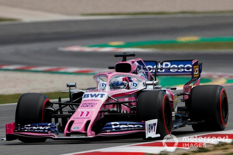 "Sergio Perez, Racing Point RP19<span class=""copyright"">Zak Mauger / Motorsport Images</span>"