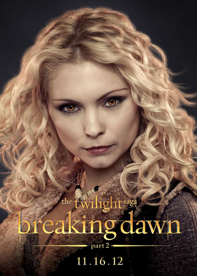 "MyAnna Buring as Tayna in Summit Entertainment's ""The Twilight Saga: Breaking Dawn - Part 2"" - 2012"