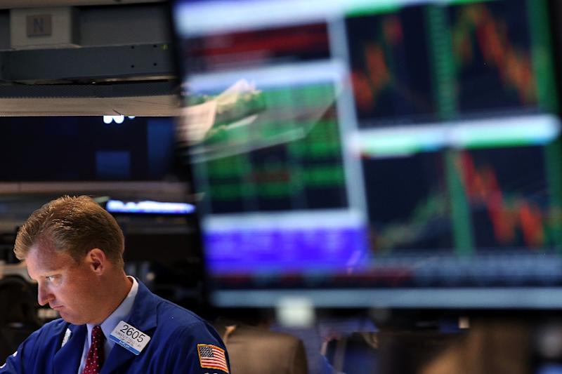 US stocks followed the downward trend with the Dow Jones Industrial Average mid session at 17,589.91 points, down 0.8 percent