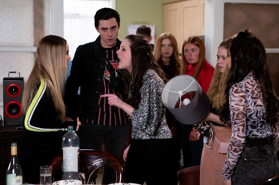 If filming resumes on 'Corrie' social distancing rules could still cause problems (ITV)