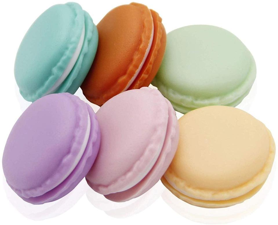 <p>This cute <span>Coolrunner Macaron Storage Case</span> ($7) is great for storing all the tiny things in their bag.</p>