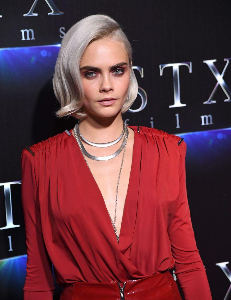 Cara Delevingne pictured in 2017. (Photo: Angela Weiss/AFP/Getty Images)