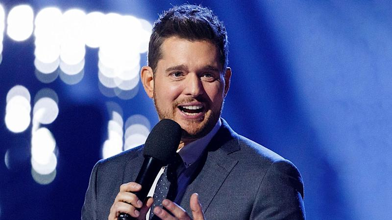 michael buble laughs off rumors of his retirement consider the source