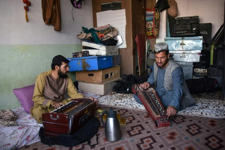 Sayed Mohammad was punished by the Taliban for playing music but has become a professional musician since the insurgents were ousted