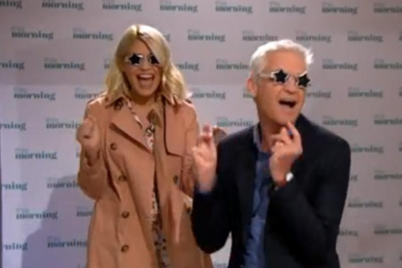 Pranked: Holly Willoughby and Phillip Schofield on This Morning (ITV)