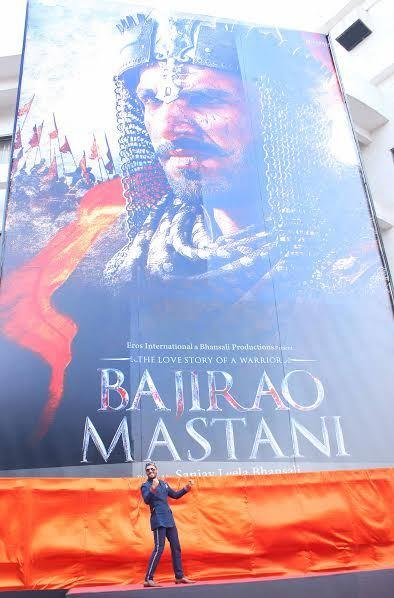 Bajirao Mastani Although the film has been released, there was a lot of tension surrounding it earlier. The descendant of Peshwa Bajirao claimed that the historical facts were altered and that Kashibai and Mastani were shown in vulgar light with dance and intimate sequences.