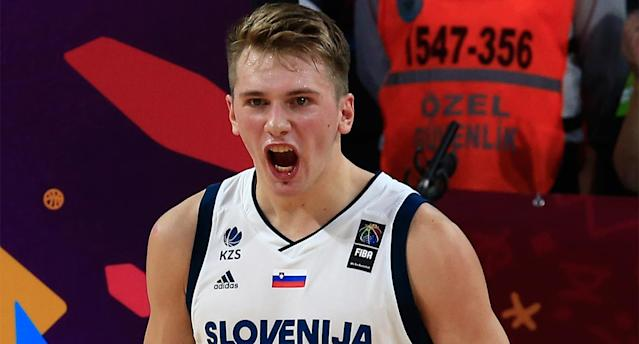 Luka Doncic is arguably the most decorated European player to make a jump to the NBA. (AP)