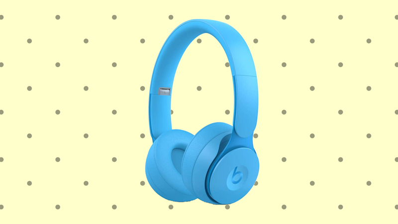 Save $130 on these Beats Solo Pro Wireless Noise Cancelling On-Ear Headphones. (Photo: Beats)