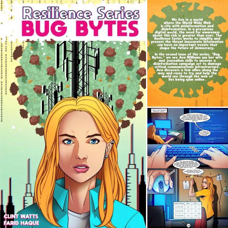 COVER: Bug Bytes, the latest Graphic Novel from Erly Stage Studios
