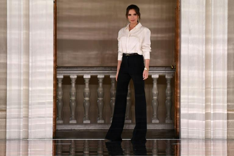 Victoria Beckham in 2020. London Fashion Week will be bare of its usual crowds this year