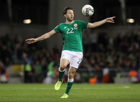 Harry Arter has not been named in the Republic of Ireland squad for Thursday night's Nations League clash with Wales amid reports of a spat with assistant manager Roy Keane - Credit: Brian Lawless/PA