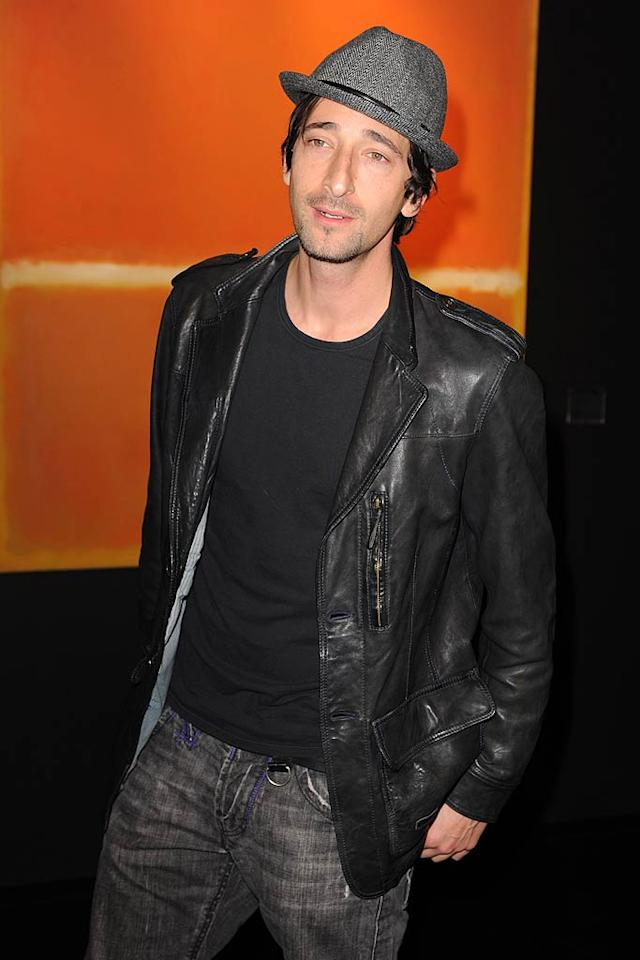 "April 14: Adrien Brody turns 38 Uri Schanker/<a href=""http://www.filmmagic.com/"" target=""new"">FilmMagic.com</a> - December 2, 2010"