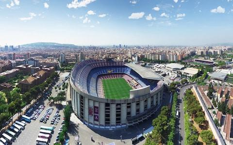 Get yourself to the Camp Nou - Credit: globalvision 360