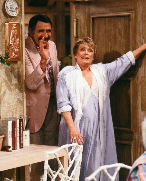 PHOTO: Rue McClanahan stars as Blanche Devereaux on 'The Golden Girls.' McLanahan got to keep all of Blanche's wardrobe in the show. (NBC via Getty Images)