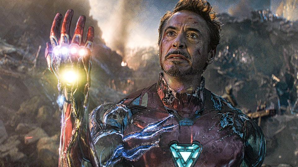 Robert Downey Jr in Avengers: Endgame (Credit: Disney)