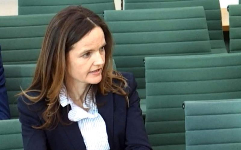 Bank of England deputy governor Charlotte Hogg during her first meeting with the Treasury Select Committee, at the House of Commons in London - PA