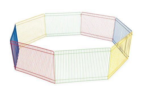 Prevue Pet Products Multi-Color Small Pet Playpen 40090,13-Inch (Amazon / Amazon)