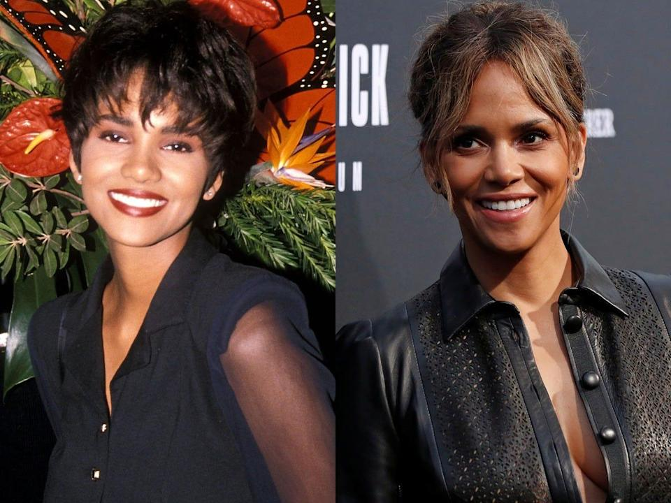 halle berry in her 20s