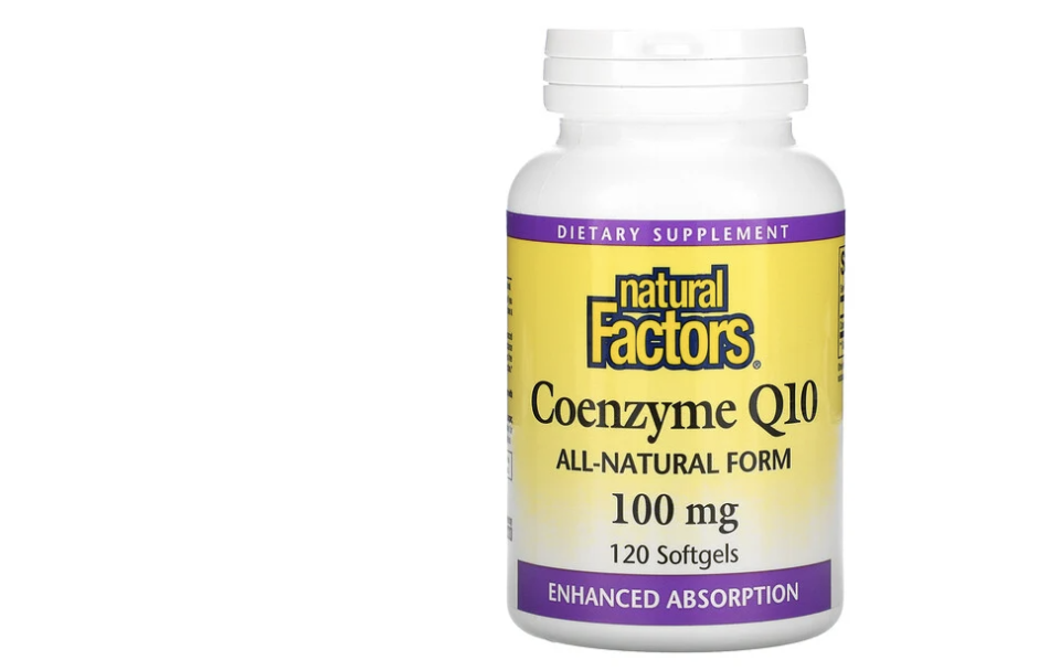 Natural Factors, Coenzyme Q10. (PHOTO: iHerb Singapore)