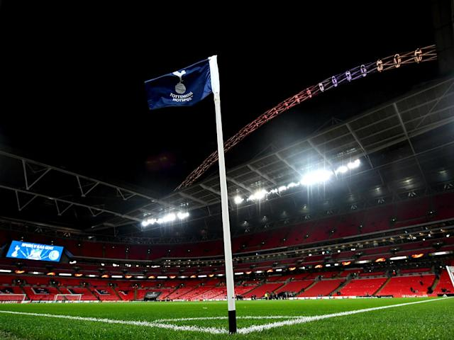 Tottenham hosted their European fixtures at Wembley this season but struggled for form and results: Getty