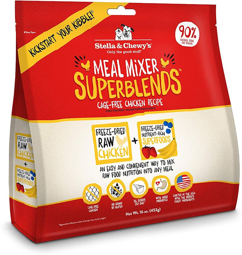 Stella & Chewy's Dried Meal Mixer Super Blends. (Photo: Amazon)