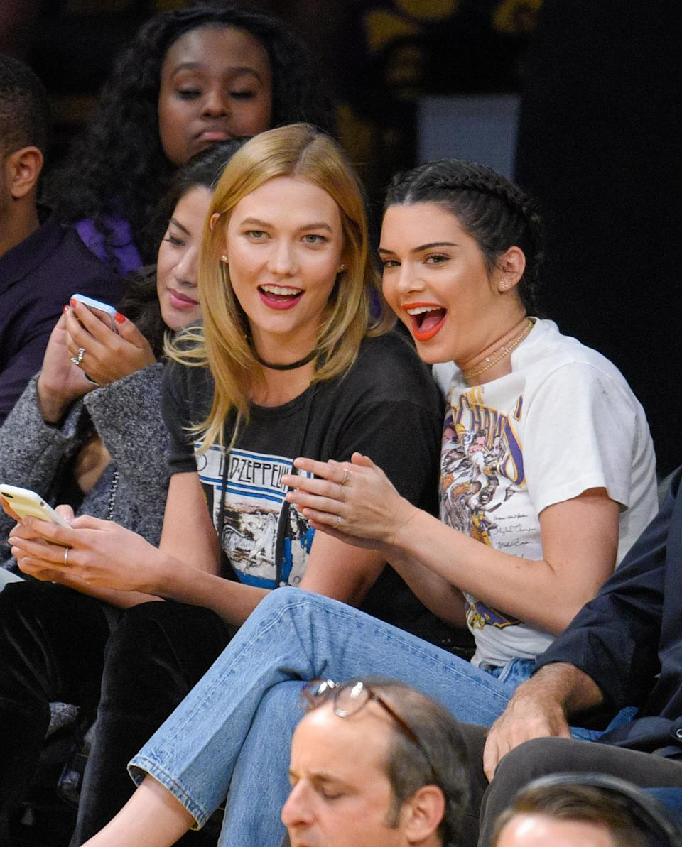 Model Karlie Kloss came second on the highest earners list. [Photo: Getty]